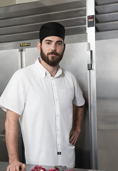 Dickies Chef Unisex Poplin Cook Shirt in White