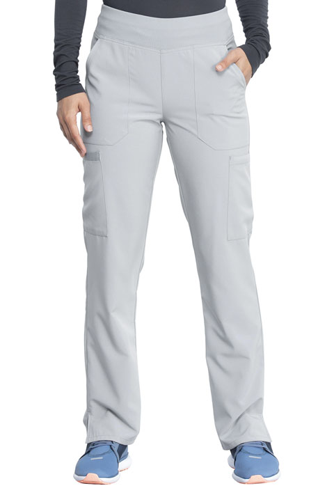 Dickies Every Day EDS Essentials Natural Rise Tapered Leg Pull-On Pant in Grey
