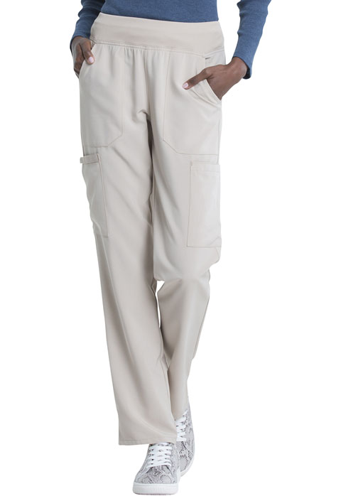 Dickies Every Day EDS Essentials Natural Rise Tapered Leg Pull-On Pant in Khaki