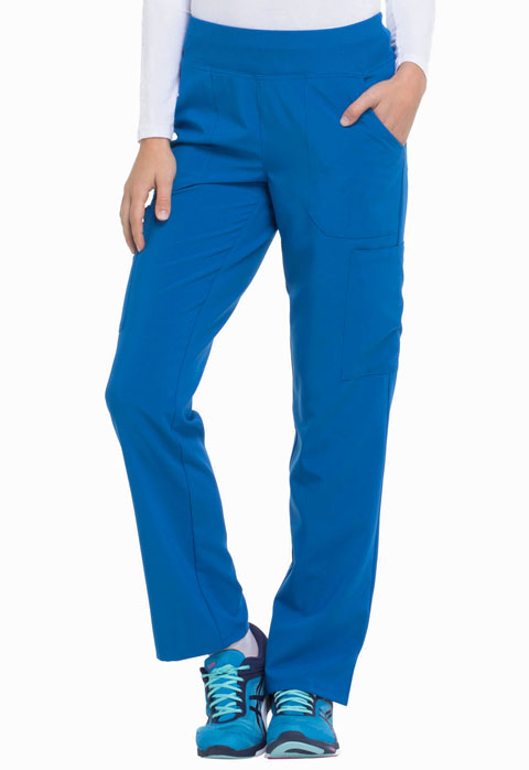 EDS Essentials Women's Natural Rise Tapered Leg Pull-On Pant Blue