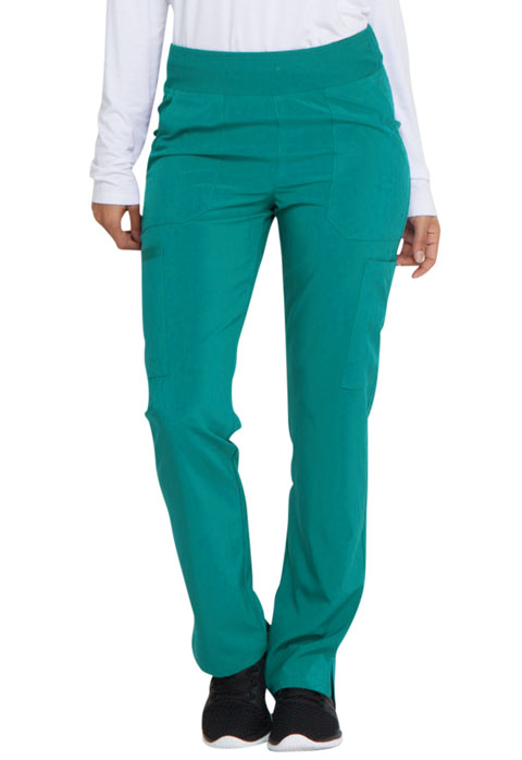 Dickies EDS Essentials Natural Rise Tapered Leg Pull-On Pant in Teal Blue
