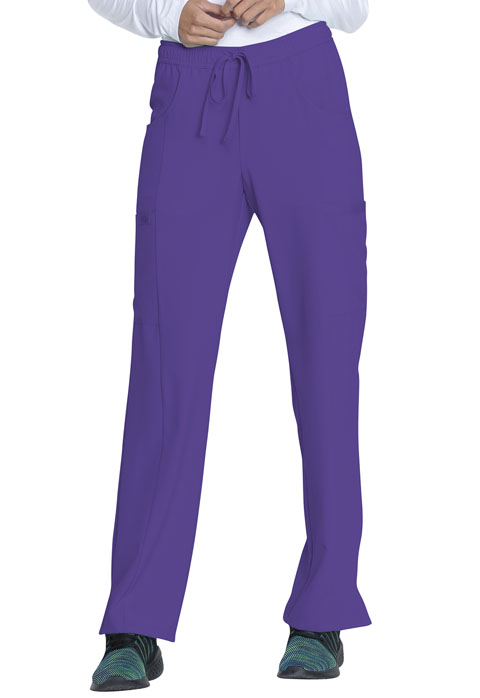 Dickies Every Day EDS Essentials Mid Rise Straight Leg Drawstring Pant in Grape