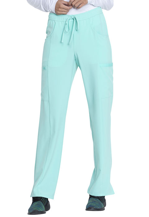 Dickies EDS Essentials Mid Rise Straight Leg Drawstring Pant in Mint Chip