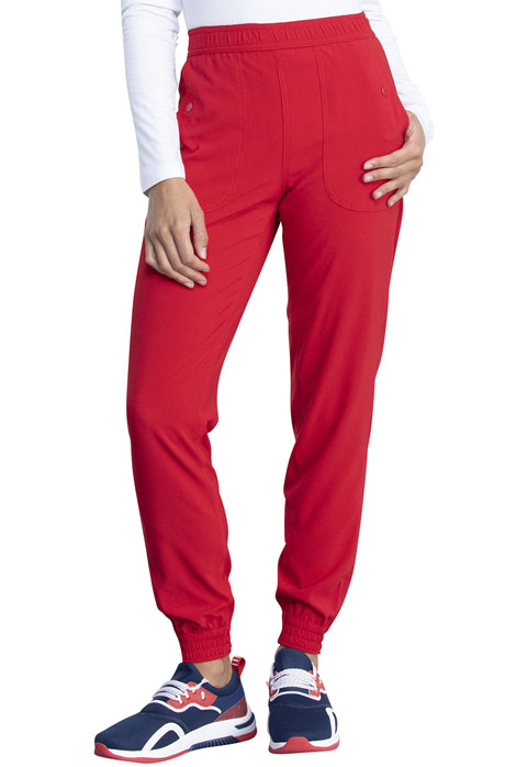 Dickies Retro Mid Rise Jogger in Red