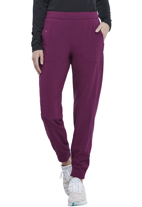 Dickies Retro Mid Rise Jogger in Wine