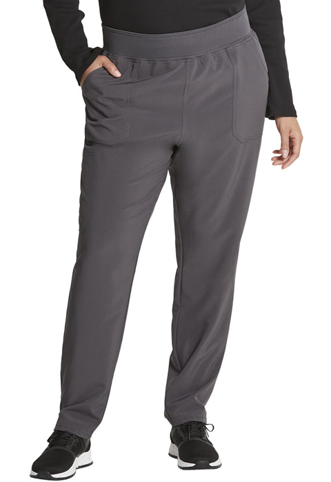 Dickies Every Day EDS Essentials Mid Rise Tapered Leg Pull-on Pant in Pewter