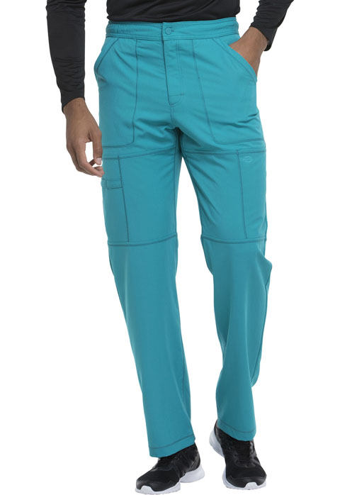 4857b01650c Dickies Dynamix Men's Zip Fly Cargo Pant in Teal Blue from V.E.B. Scrubs