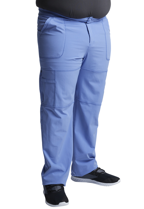 Dynamix Men's Men's Zip Fly Cargo Pant Blue