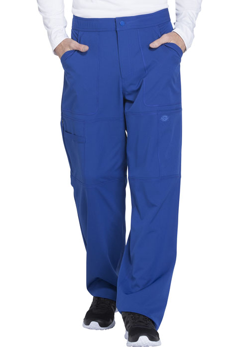 Dickies Dynamix Men's Zip Fly Cargo Pant in Galaxy Blue