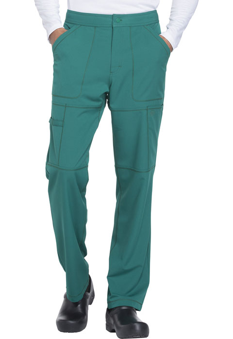Dickies Dynamix Men's Zip Fly Cargo Pant in Hunter Green