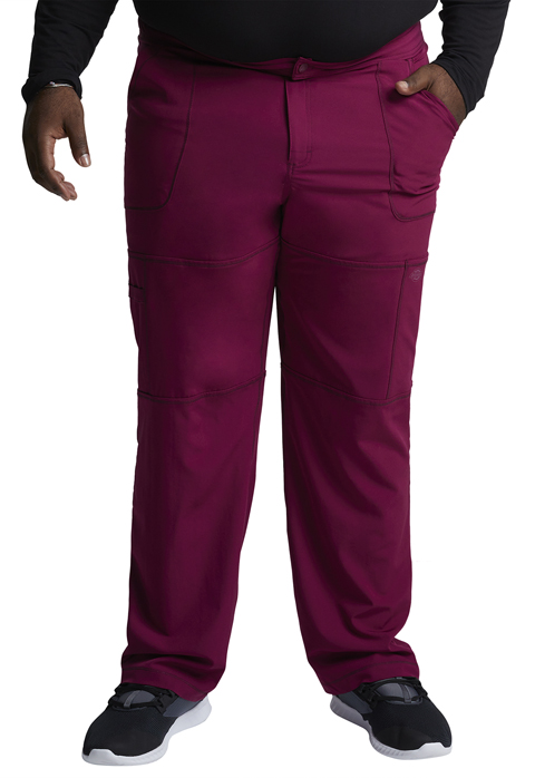 Dickies Dynamix Men's Zip Fly Cargo Pant in Wine