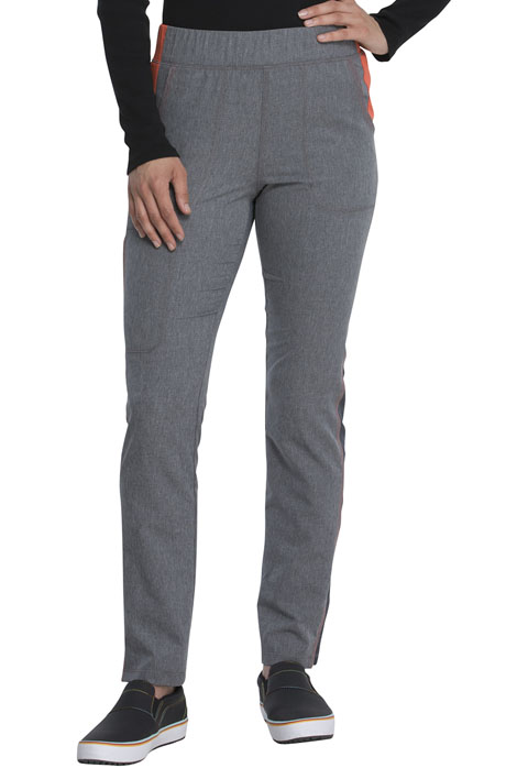 Dickies Dickies Dynamix Mid Rise Tapered Leg Pull-on Pant in Heather Pewter