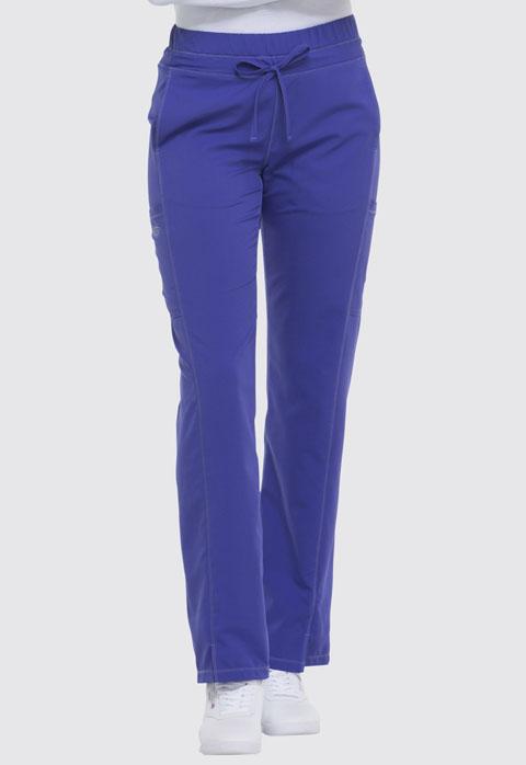 Dickies Dynamix Women's Mid Rise Straight Leg Drawstring Pant Purple