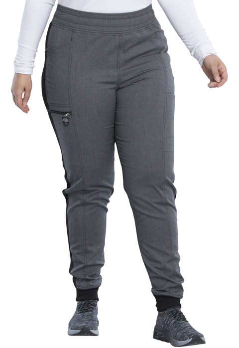 Dickies Dickies Balance Mid Rise Jogger Pant in Heather Steel
