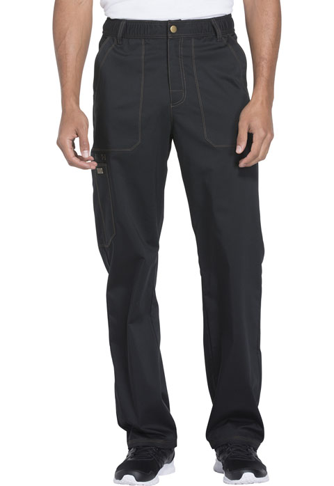 Dickies Essence Men's Drawstring Zip Fly Pant in Black