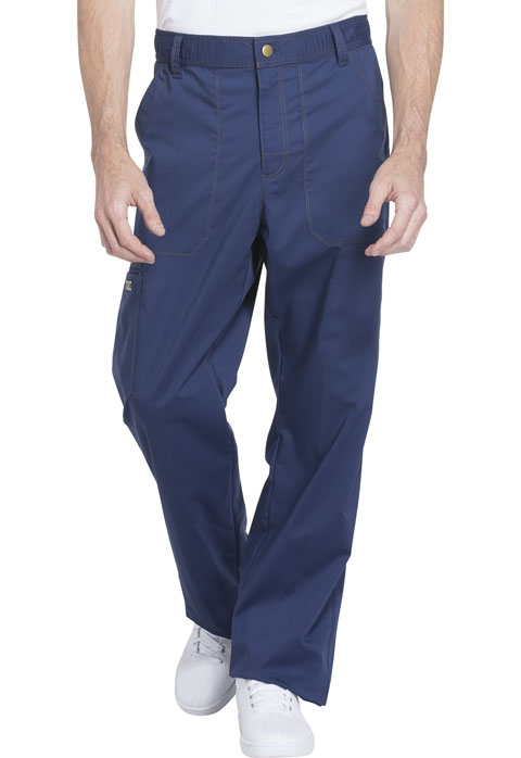 Dickies Essence Men's Drawstring Zip Fly Pant in Navy