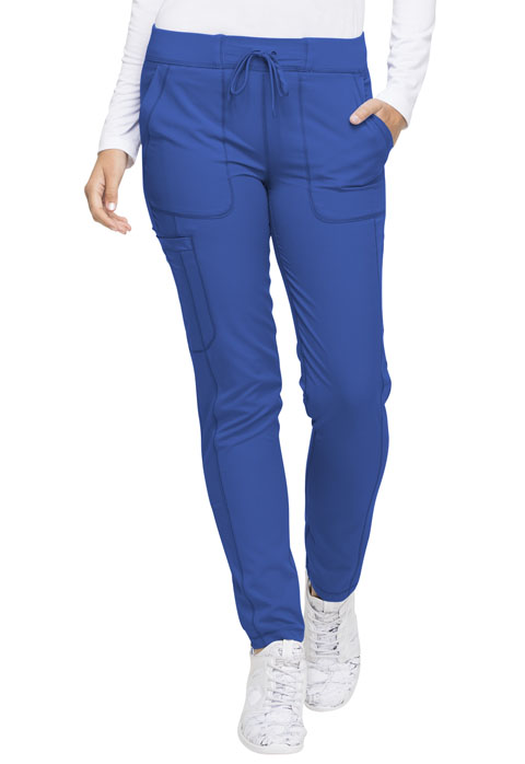 Dickies Dynamix Natural Rise Skinny Drawstring Pant in Royal