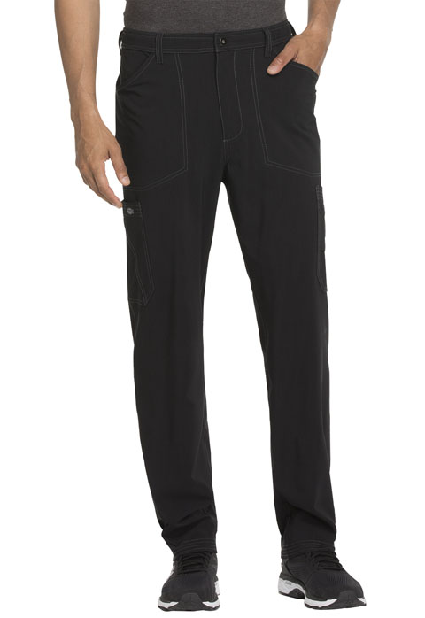 Advance Men's Men's Straight Leg Zip Fly Cargo Pant Black
