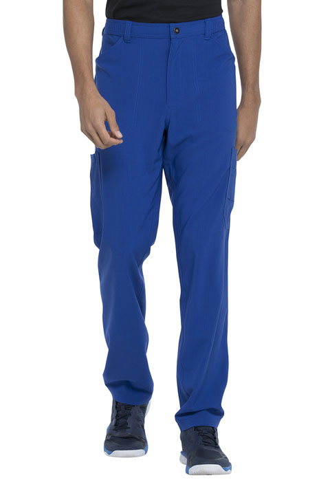 Dickies Advance Men's Straight Leg Zip Fly Cargo Pant in Galaxy Blue