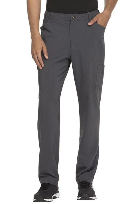 Dickies Advance Men's Straight Leg Zip Fly Cargo Pant in Pewter