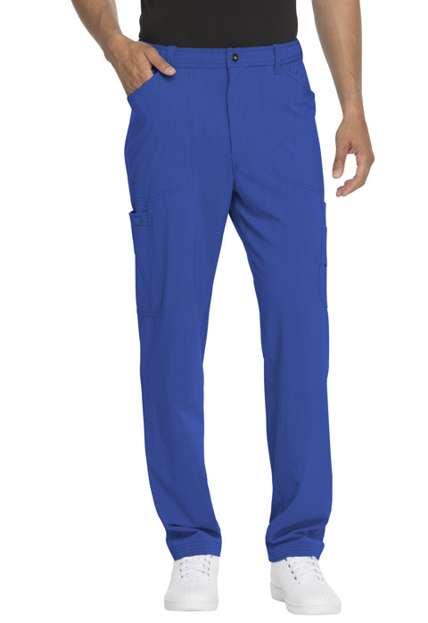 Dickies Advance Men's Straight Leg Zip Fly Cargo Pant in Royal