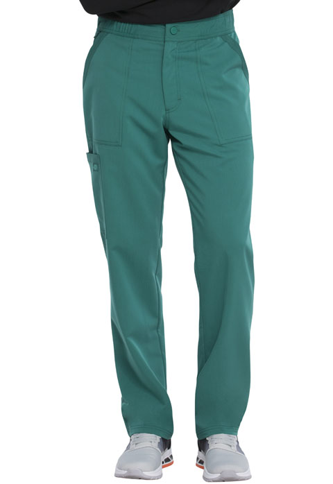Dickies Dickies Balance Men's Mid Rise Straight Leg Pant in Hunter Green