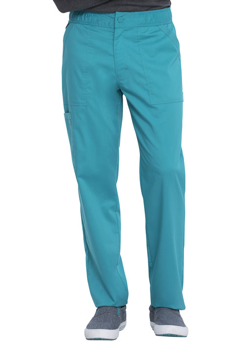 Dickies Dickies Balance Men's Mid Rise Straight Leg Pant in Teal Blue