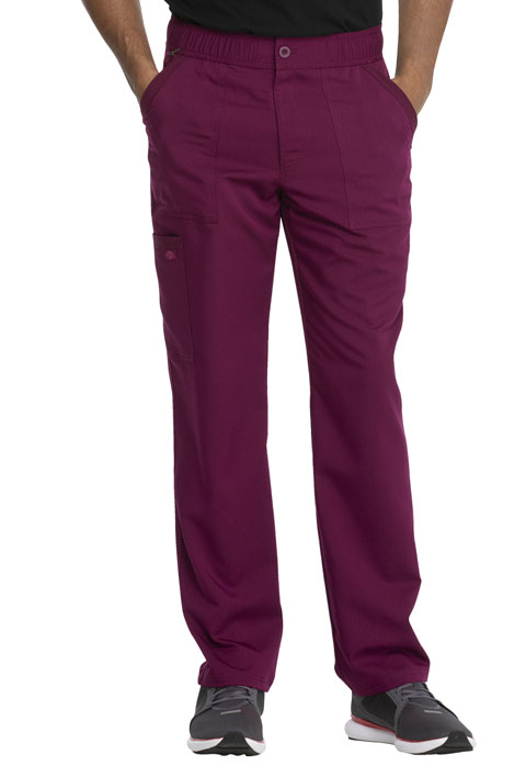 Dickies Dickies Balance Men's Mid Rise Straight Leg Pant in Wine