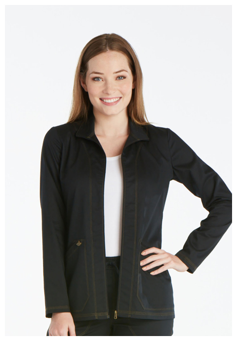 Dickies Essence Warm-up Jacket in Black