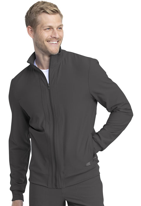 Dickies Retro Men's Warm-up Jacket in Pewter