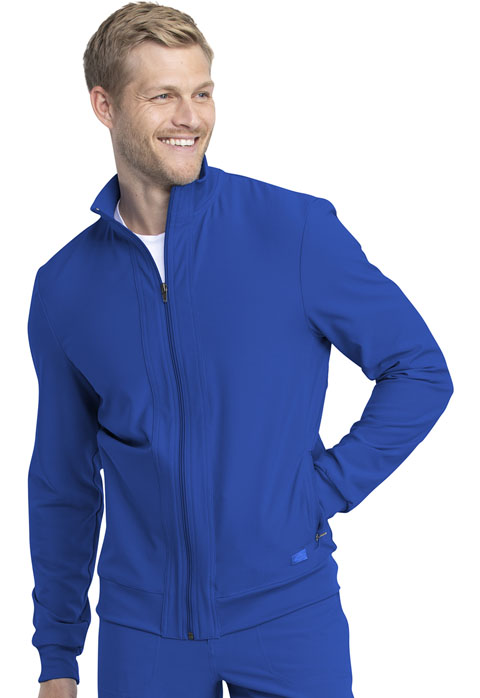 Dickies Retro Men's Warm-up Jacket in Royal
