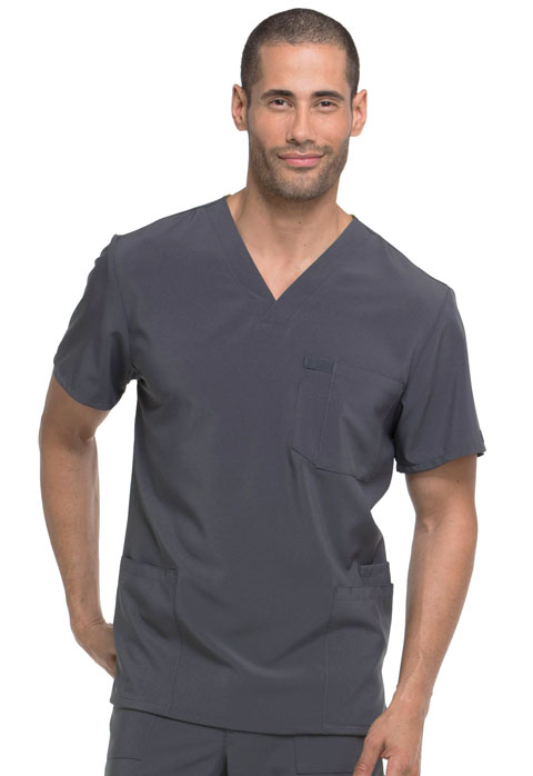 EDS Essentials Men's Men's V-Neck Top Gray