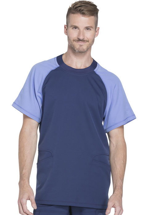 Dickies Dynamix Men's Men's Crew Neck Top Blue