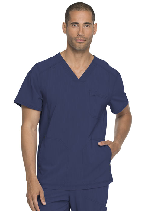 Dickies Advance Men's V-Neck Top in D-Navy