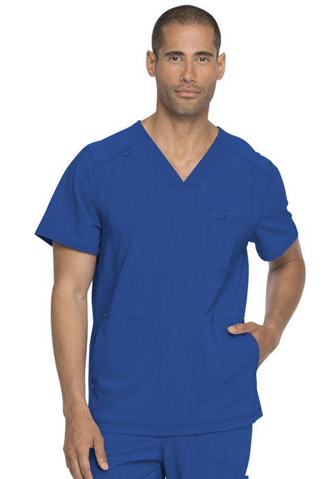 Dickies Advance Men's V-Neck Top in Royal