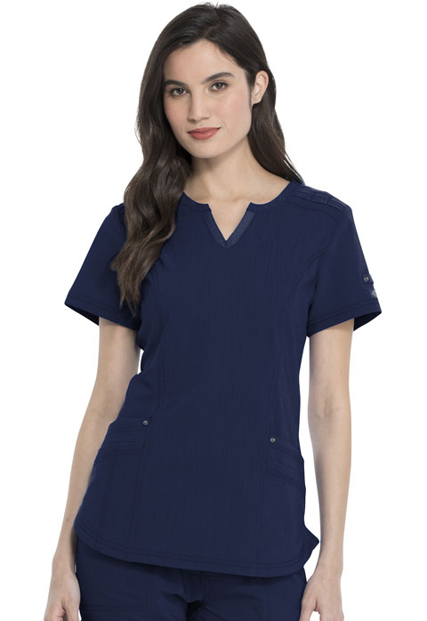 Dickies Advance Shaped V-Neck Top in D-Navy