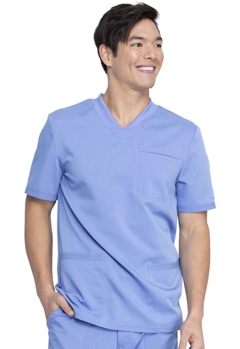 Dickies Dickies Balance Men's V-Neck Top in Ciel Blue