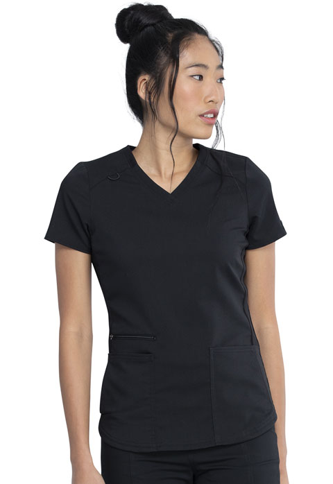 Dickies Dickies Balance V-Neck Top in Black