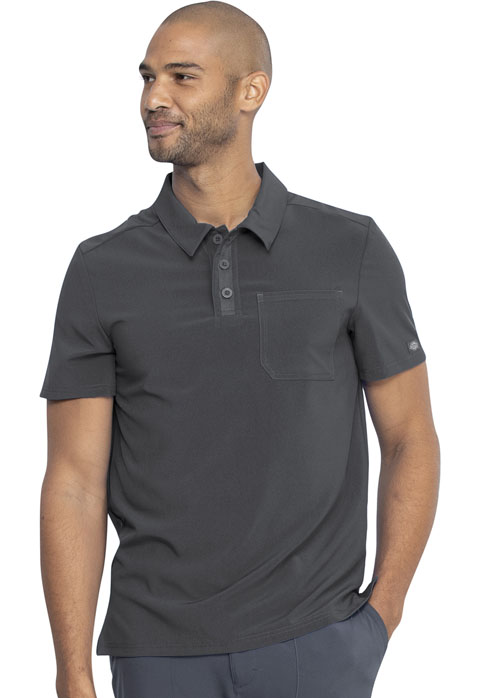 Dickies Every Day EDS Essentials Men's Polo Top in Pewter