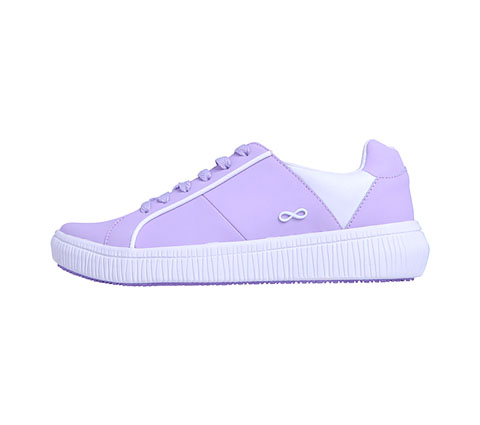 Infinity Footwear Shoes Women DRIFT Lavender on White