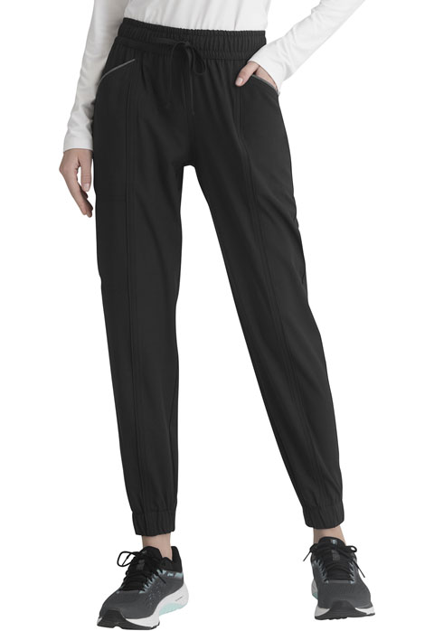 Simply Polished Women Mid Rise Jogger Black