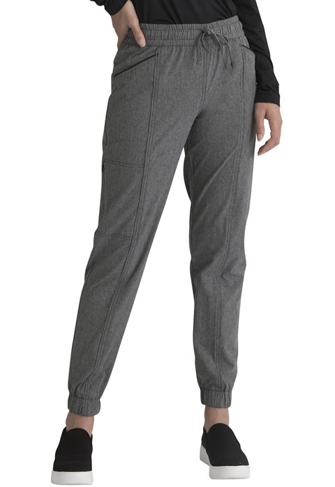 Simply Polished Women Mid Rise Jogger Gray