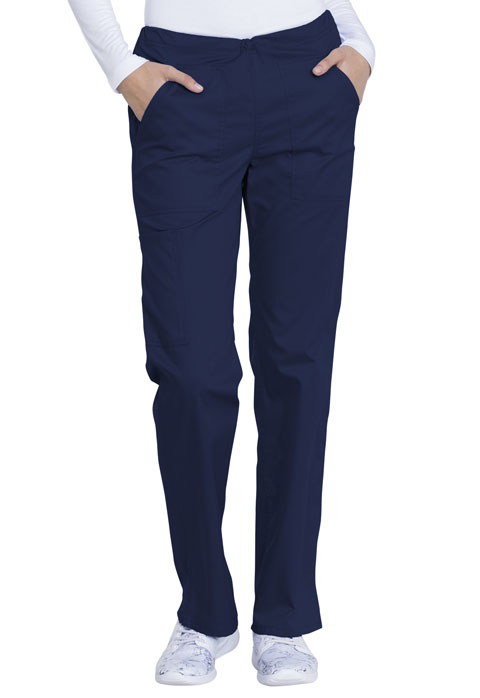 Dickies Genuine Dickies Industrial Strength Mid Rise Straight Leg Drawstring Pant in Navy