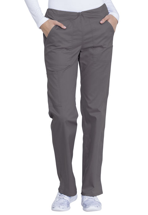 Dickies Genuine Dickies Industrial Strength Mid Rise Straight Leg Drawstring Pant in Pewter