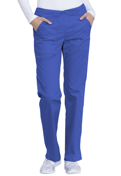 Dickies Genuine Dickies Industrial Strength Mid Rise Straight Leg Drawstring Pant in Royal
