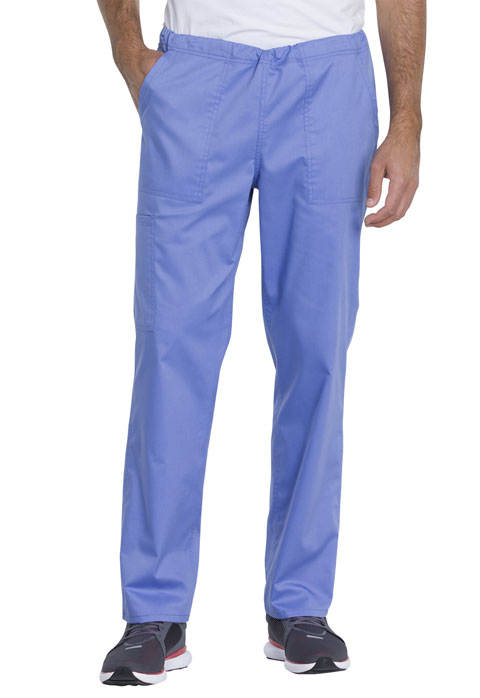Dickies Genuine Dickies Industrial Strength Unisex Mid Rise Straight Leg Pant in Ciel Blue
