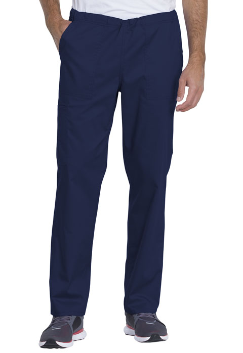 Dickies Genuine Dickies Industrial Strength Unisex Mid Rise Straight Leg Pant in Navy