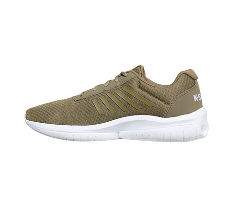 K-Swiss Men's MINFINITYTUBES CovertGreen,White