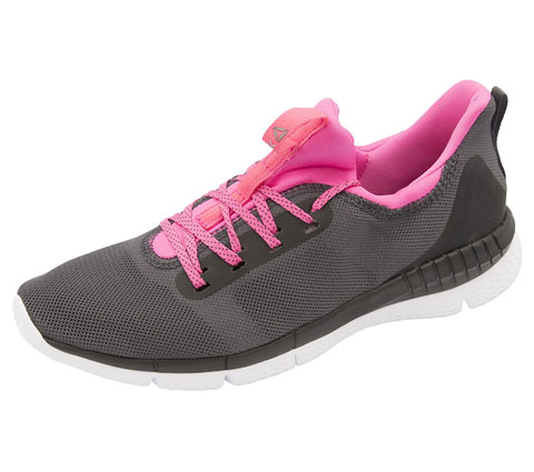 Reebok Women's Premium Athletic Footwear AshGrey,Black,White,SolarPink