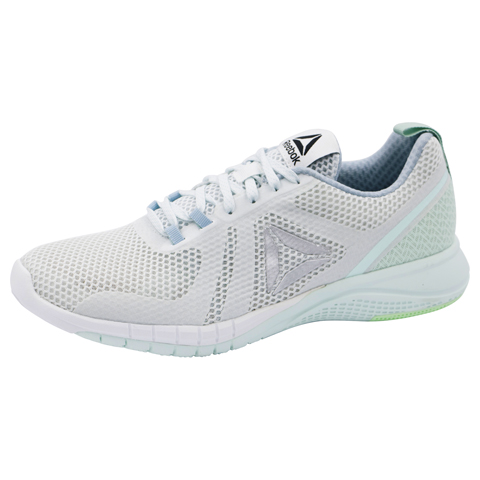 Reebok Women's PRINTRUN PolarBlue,Grey,Mist,MintGreen